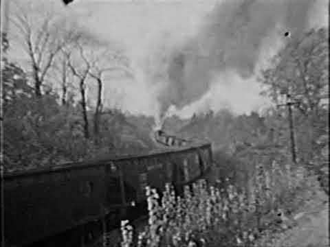 Geauga County, OH - B&O Doubleheading On Swine Creek Curve - Lake Branch #7