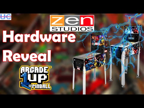 New Info! Zen Studios Reveals Arcade1up Pinball Hardware and Software from Unqualified Critics