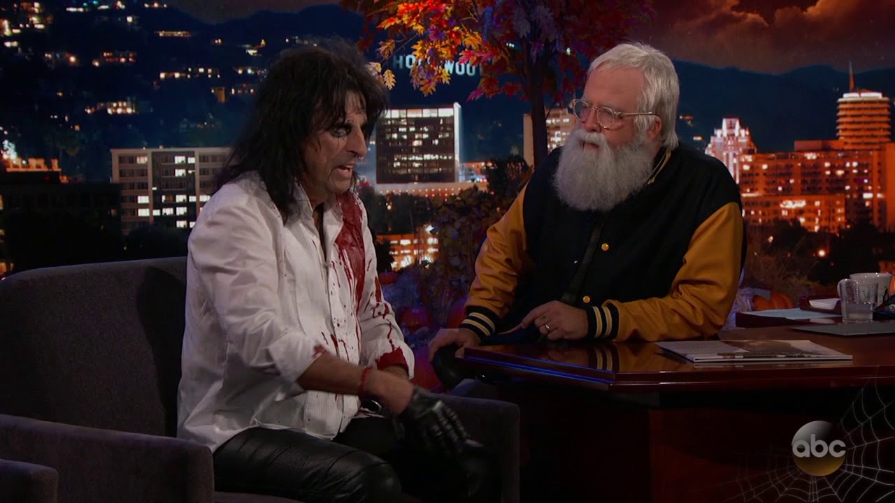 Guest Host Dave Grohl Interviews Alice Cooper Youtube