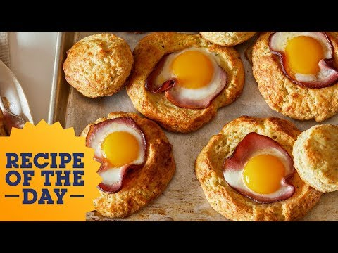 Download Youtube: Recipe of the Day: Cheesy Biscuit Egg-in-a-Hole   Food Network