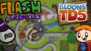 Bloons Tower Defense 5: Flash Chronicles