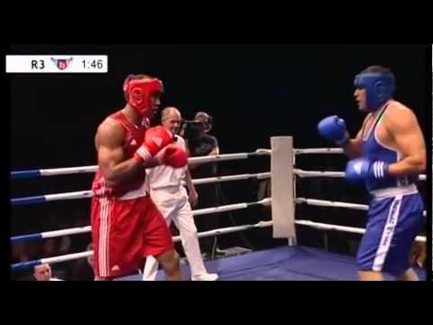 Anthony Joshua (Finchley) v Fayz Abbas (Northside) 2011 ABA final