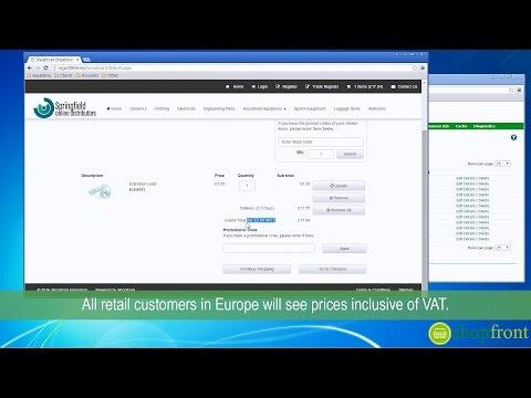 VAT (with Sage 200)