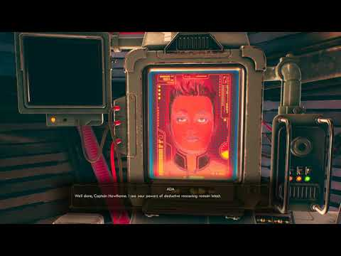 the outer world game test Entered the Ship |