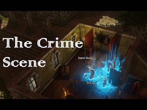 Ep012 Tactician playthrough Divinity: Original Sin enhanced edition The Crime Scene