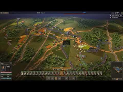 Lets Play: Ultimate General Civil War | Union Campaign | Georgia Railroad