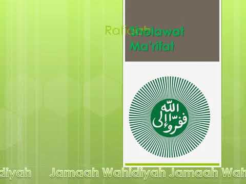 Qasidah Shalawat Ma'rifat (shalawat Wahidiyah)