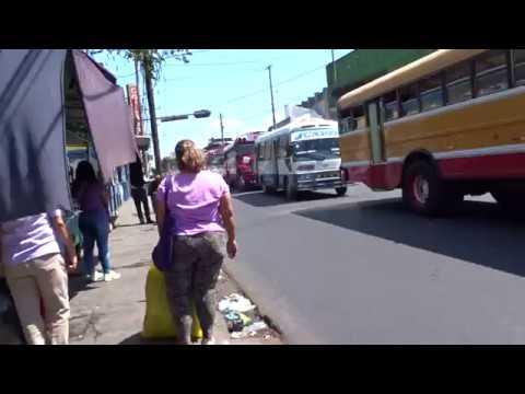 Walking in San Salvador, El Salvador