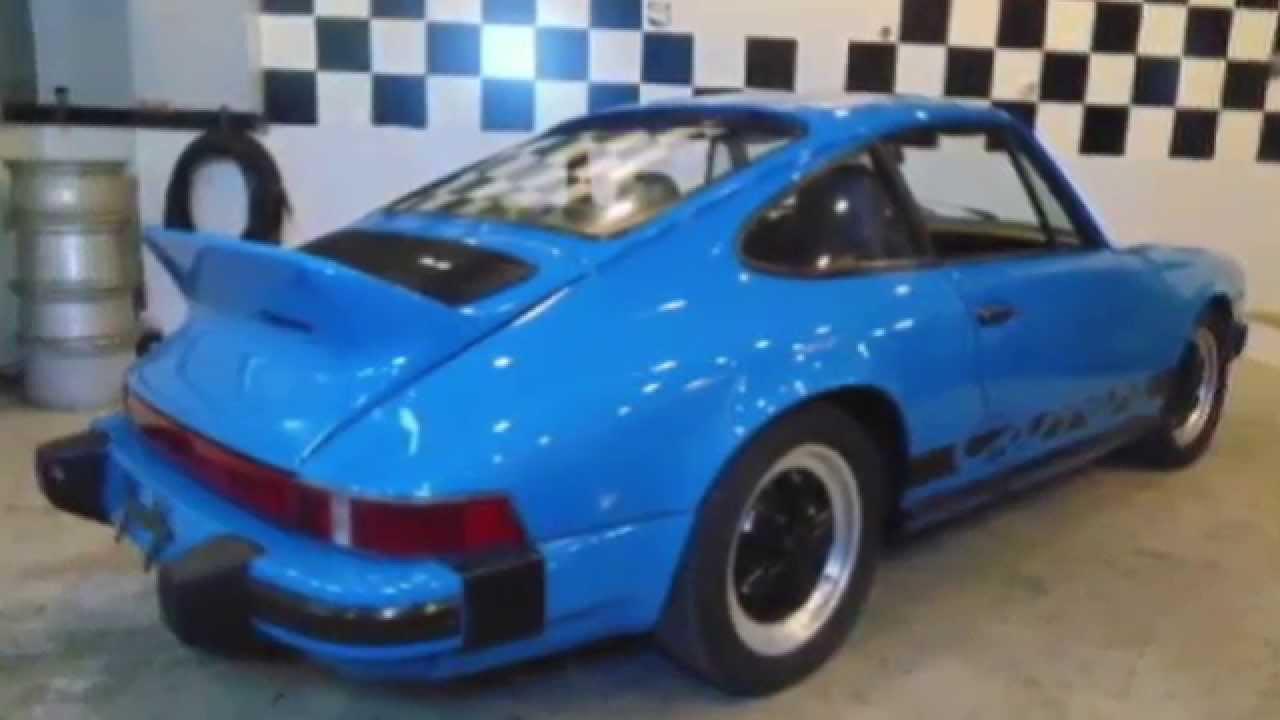 For Sale Mexico Blue 1974 Porsche 911 Carrera Tribute 2 7