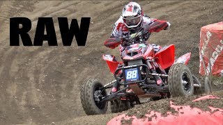Unadilla ATV Nationals 2017 Raw Footage Pro Moto 1 and 2 FULL RACE