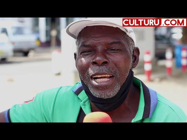 Paramaribo binnenstad uitgelicht! De Schaafijsman Henk