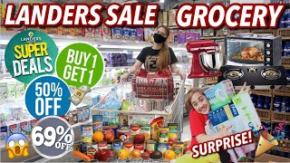 LANDERS GROCERY BUY1TAKE1 60% OFF SALE! + MOTHER'S DAY GIFT SURPRISE! | VLOG#90 Candy Inoue ♥️