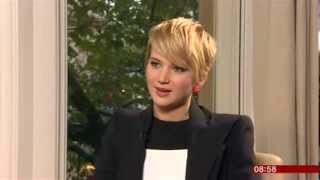 Jennifer Lawrence Hunger Games Catching Fire Interview BBC Breakfast 2013