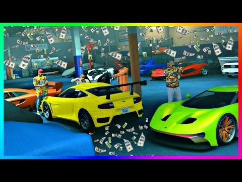 GTA ONLINE IMPORT/EXPORT DLC $10,000,000 MONEY MAKING SELLIN