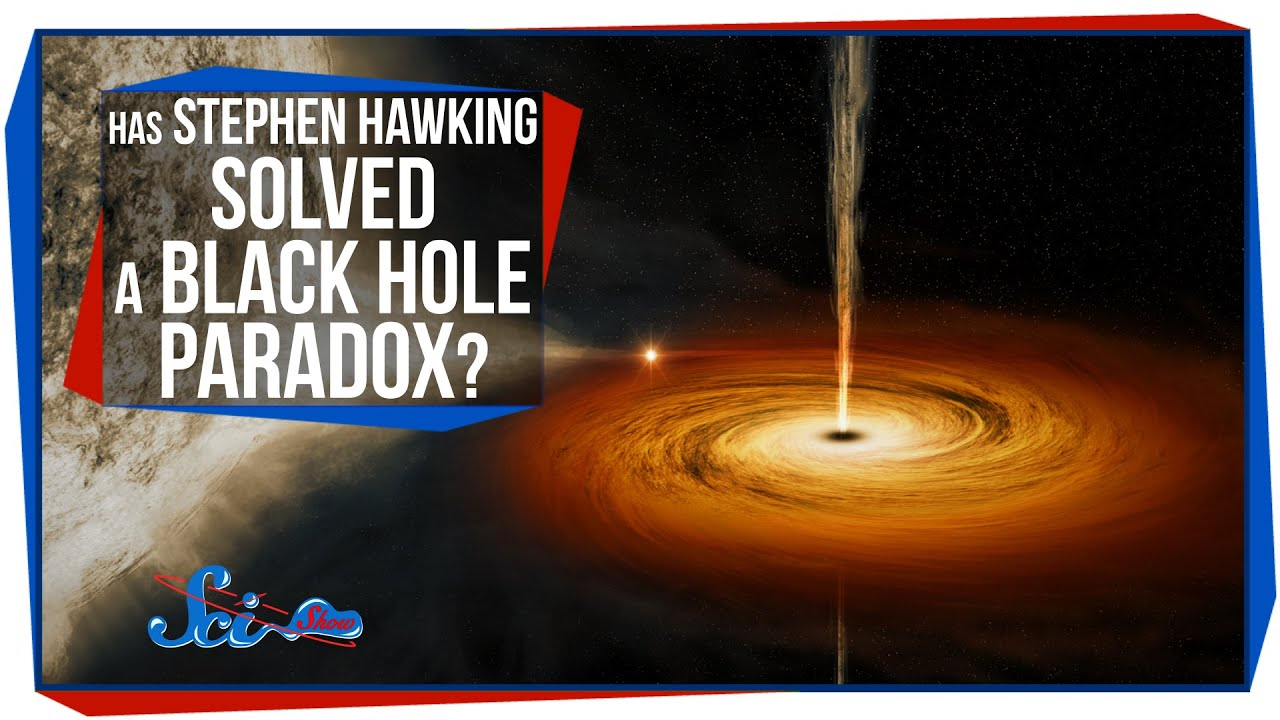 Has Stephen Hawking Solved a Black Hole Paradox? - YouTube