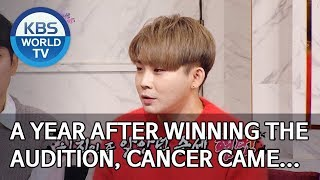 A year after winning the audition, cancer came… [Happy Together/2020.01.16]