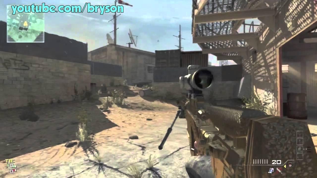 WEIRD GUN GLITCH MW3 (Tutorial PS3 & XBOX)