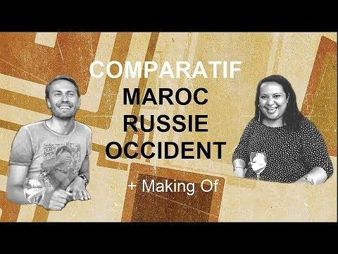 Maroc, Russie, France — Anton Malafeev & Imane Charhaddine