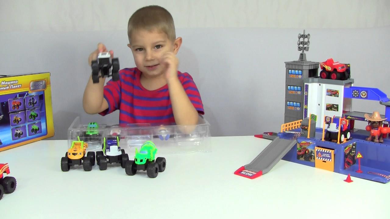 Описание игрушки Вспыш и чудо машинки