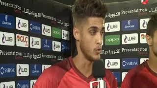 احمد الشيخ : مباراة الترسانة انتهت وعلينا التركيز من أجل لقاء وفاق سطيف فى افريقيا