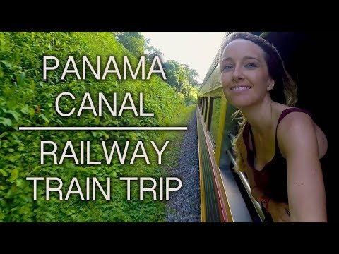 Panama Canal Railway Train Trip