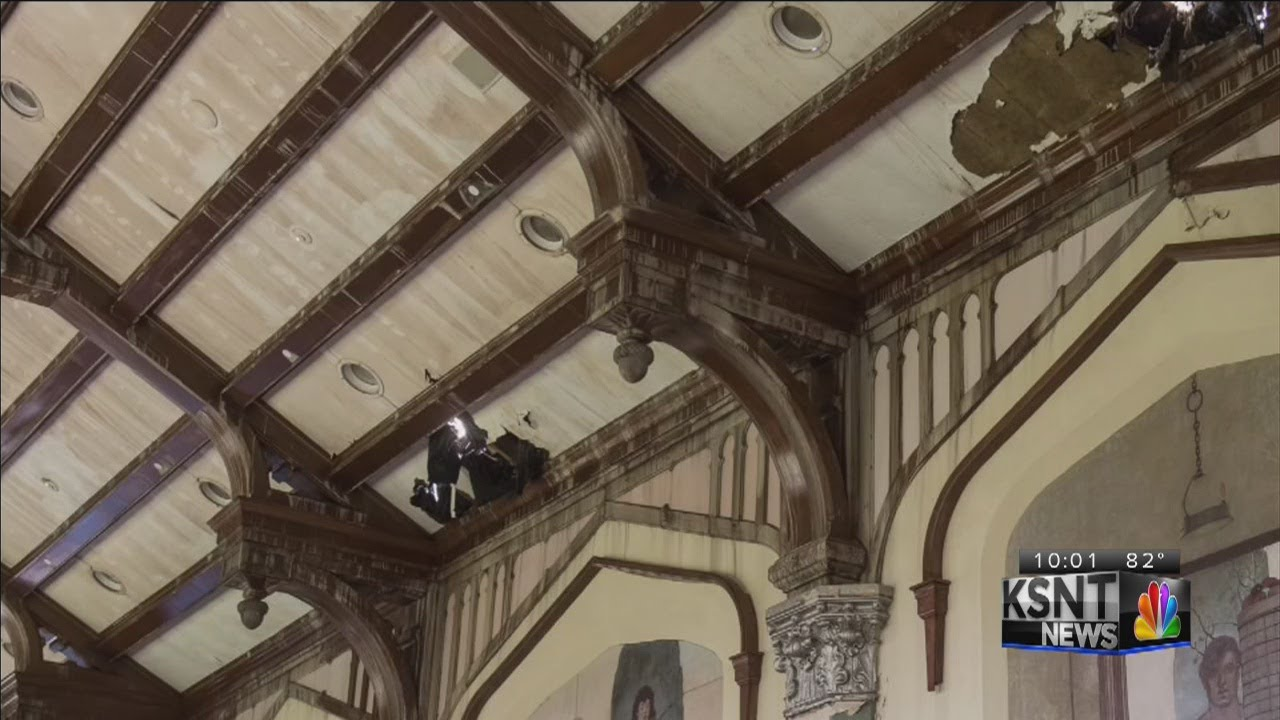 Pictures Show Damage Inside K State S Hale Library After Fire Youtube
