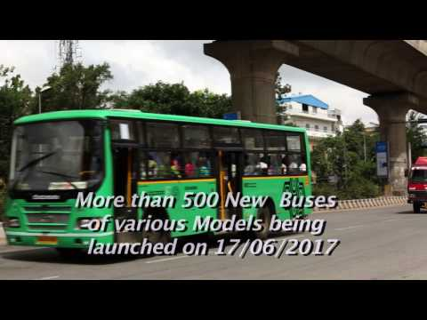 Inauguration  of Smart card ,different Hi-Tech buses and renovated foot over bridge at KBS