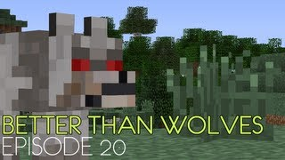 Poet Builds Better Than Wolves - Episode 20 - To the Nether (again)