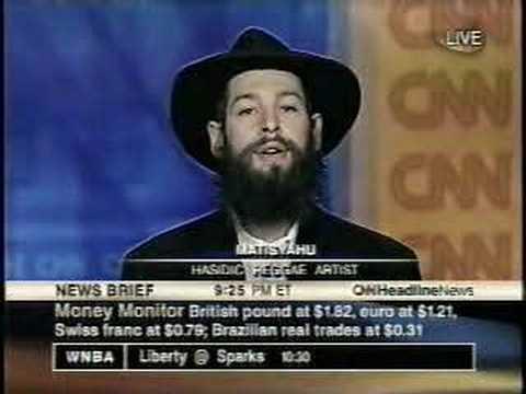 Matisyahu's First Appearance On TV (2003) CNN