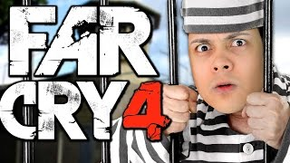 Far Cry 4 - ESCAPING FROM A PRISON!?! (Far Cry 4 Map Editor Funny Moments)