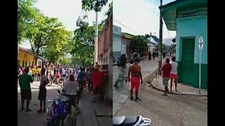 En Natagaima, comerciantes destrozaron gran parte de la casa del alcalde