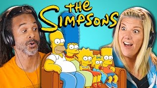 ADULTS REACT TO THE SIMPSONS 30th Anniversary