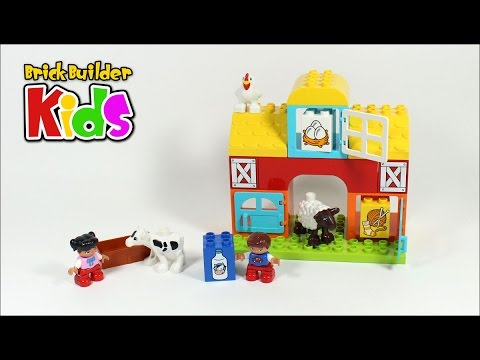 Lego DUPLO 10617 My First Farm – Lego Speed Build for Kids - YouTube