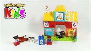 Lego DUPLO 10617 My First Farm – Lego Speed Build for Kids