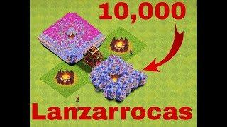 10,000 Lanzarrocas!!! (Clash Of Clans Servidor Privado) [David Gamer 1205]