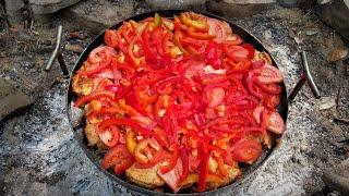 МЯСО С КЛЕЦКАМИ!!! Шикарное блюдо из 1.5 килограмма мяса.