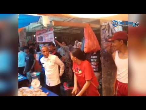 Wabup Pantau Harga di Pasar Sentral Pangkep