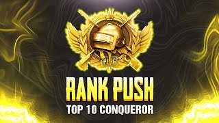 🔴ROAD to Top 10 Conqueror Let's GOO!! | PUBG Mobile | Mr Spike