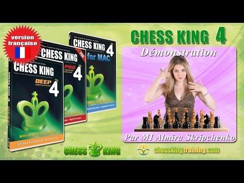 MI Almira Skripchenko parle du logiciel d'échecs Chess King 4 pour PC ou Mac