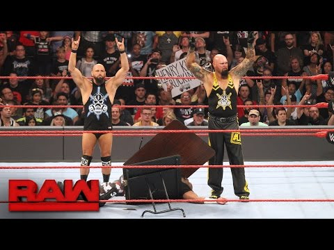 The Dudley Boyz say goodbye: Raw, Aug. 22, 2016