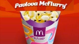 Mcdonald's Pavlova Mc Flurry - An Australia Day Sweet