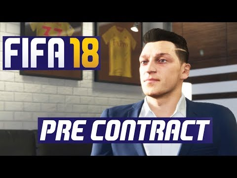 FIFA 18 Career Mode - Pre Contract Signings Tutorial
