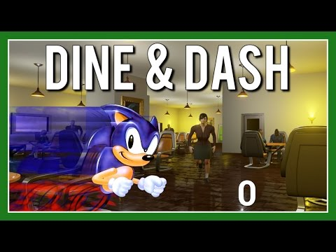 Let's Play Dine & Dash - Stealing Dinner - Dine And Dash Gameplay