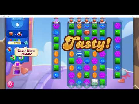 Candy Crush Level 1781 Talkthrough, 18 Moves 0 Boosters