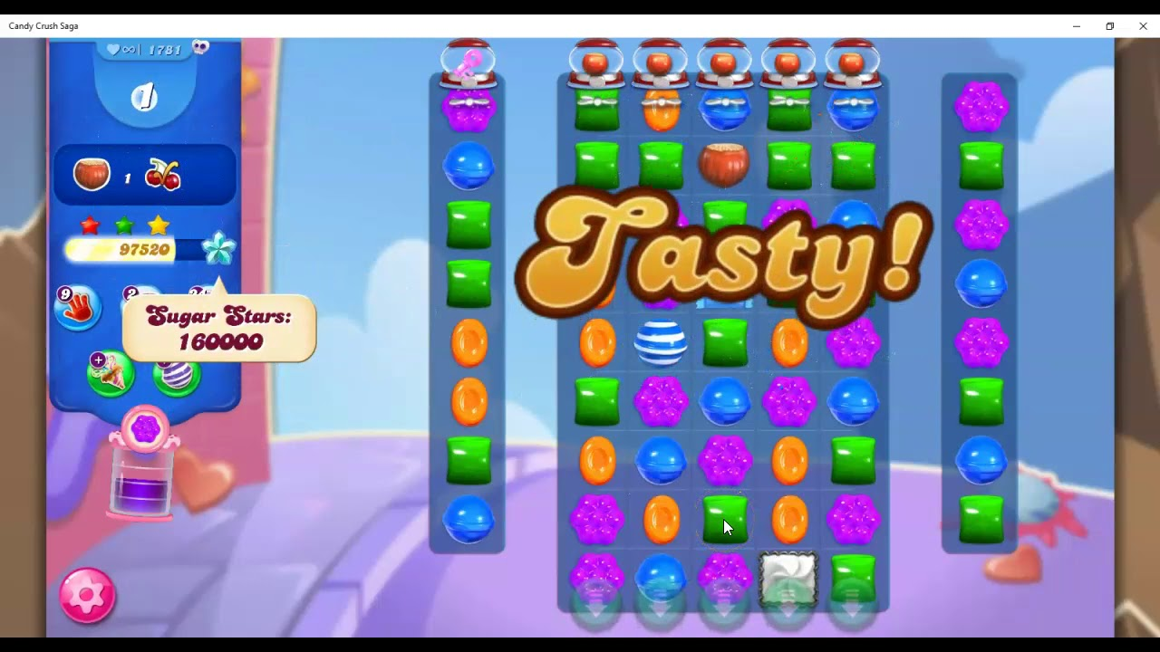 Download Candy Crush Level 1781 Talkthrough, 18 Moves 0 Boosters