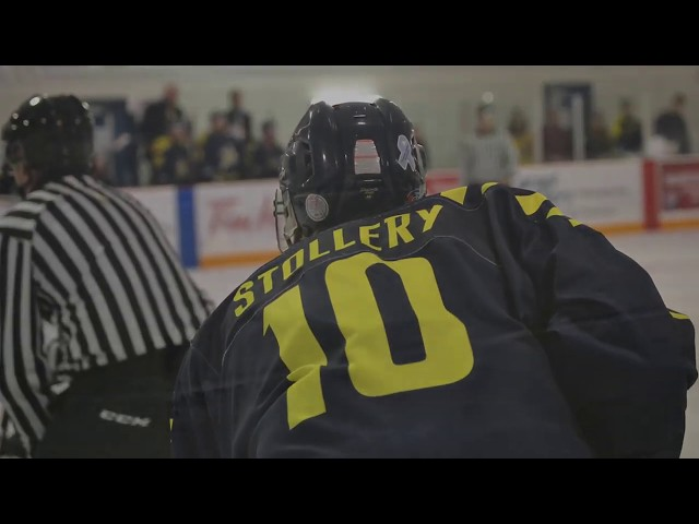 Dan Stollery Hockey Highlights - vs. Concordia Nov 17, 2017