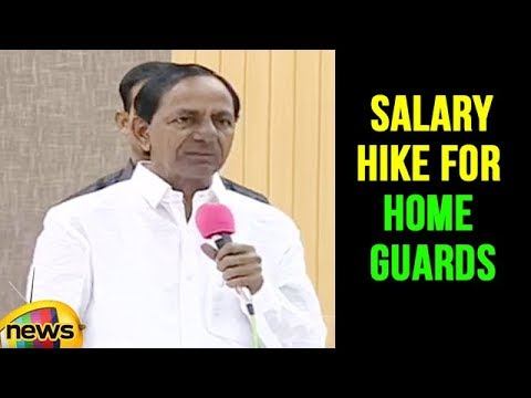 CM KCR Announces Salary Hike For Home Guards in Telangana full speech   Mango News