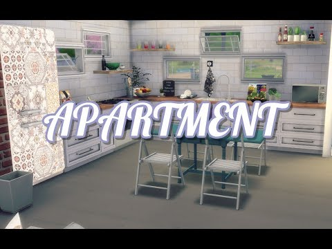 The Sims 4: Speed Build / APARTMENT + CC LINKS