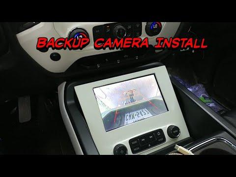 2014 Silverado Adding OEM Backup Camera