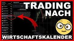 Trading nach Wirtschaftskalender | Meine persönliche Meinung | richtig lesen & traden (Deutsch)